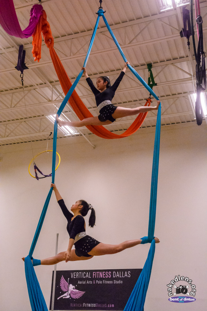 Kids Aerial Silks Vertical Fitness Dallas